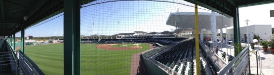 A day of rest for JetBlue Park on Tuesday.